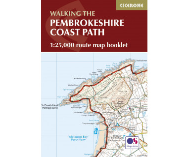 Pembrokeshire Coast Path Map Booklet