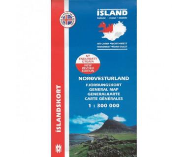 Nordvesturland (Islandia pn.-zach.) - Mapa
