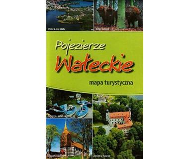 Pojezierze Wałeckie - Mapa