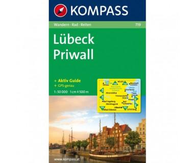 Lubeck, Priwall - Mapa