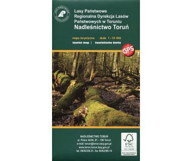 Nadleśnictwo Toruń - Mapa