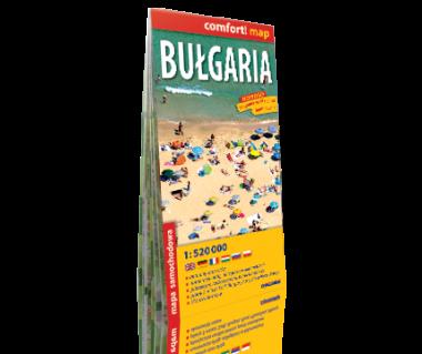 Bułgaria mapa laminowana