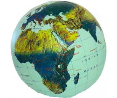Globe physical 30cm (globus dmuchany)