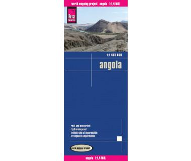Angola - Mapa wodoodporna