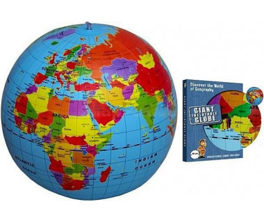 The World political 50cm maxi (globus dmuchany)