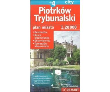 Piotrków Trybunalski (+4) Skierniewice, Bełchatów, Rawa Mazowiecka, Tomaszów Mazowiecki