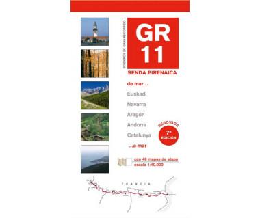 GR 11 Senda Pirenaica (map&guide)