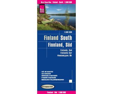Finland South mapa wodoodporna