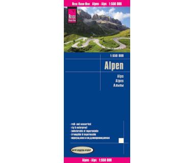 Alpen mapa wodoodporna