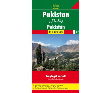 Pakistan - Mapa