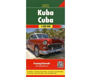 Cuba - Mapa