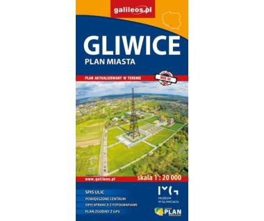 Gliwice plan miasta