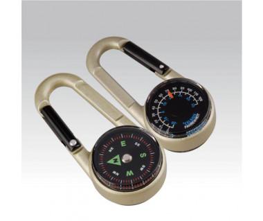 Brelok Munkees karabinek kompas i termometr 3135