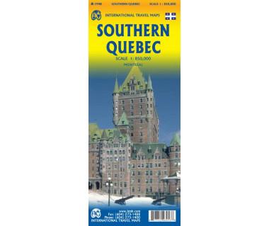 Southern Quebec - Mapa