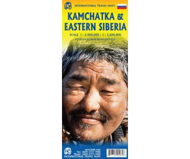 Kamchatka & Eastern Siberia - Mapa