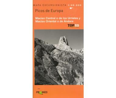 Picos de Europa. Macizo Central o de lod Urrieles y Macizo Oriental o de Andara