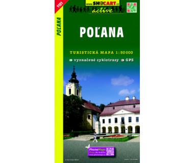 Polana - Mapa turystyczna