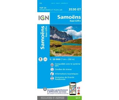 IGN 3530 ET Samoens / Haut-Giffre