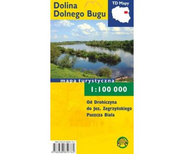 Dolina Dolnego Bugu mapa turystyczna