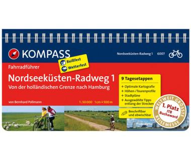 FF 6007 Nordseeküsten-Radweg 1 - Von der holländischen Grenze nach Hamburg