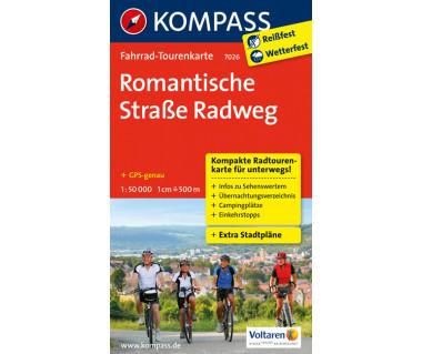 K 7026 Romantische Straße Radweg