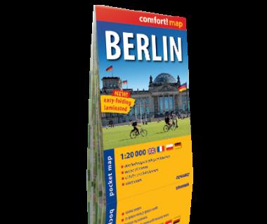 Berlin plan laminowany kieszonkowy