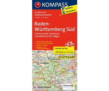 K 3711 Baden-Württemberg Süd, Schwarzwald, Bodensee, Schwäbische Alb, Allgäu