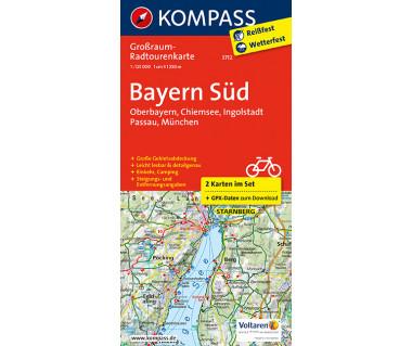 K 3712 Bayern Süd - Oberbayern - Chiemsee - Ingolstadt - Passau - München