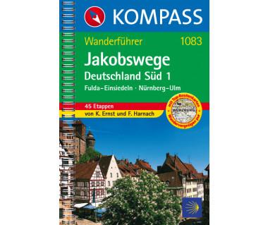 WF 1083 Jakobswege Deutschland Süd 1