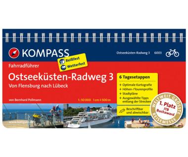 FF 6003 Ostseeküsten-Radweg 3, Von Flensburg nach Lübeck