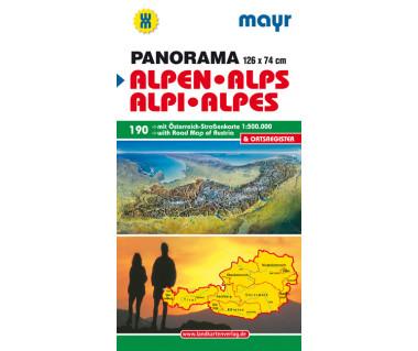 WM 190 Alpen - Alps - Alpi - Alpes