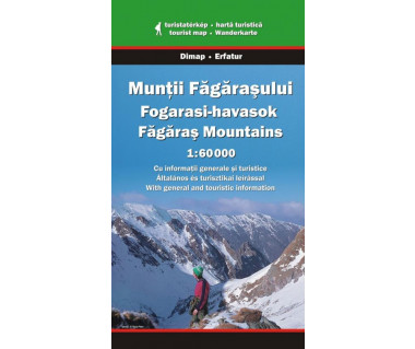 Muntii Fagarasului - Mapa turystyczna