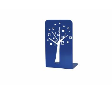 """Podpórka pod książki """"Drzewko"""" lakierowana ciemnoniebieska"""