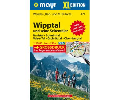 WM 424 Wipptal und seine Seitentäler XL