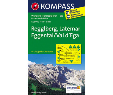 WK 630 Regglberg - Latemar - Eggental /Val d'Ega