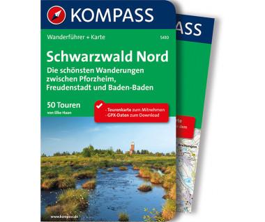 WF 5410 Schwarzwald Nord, Die schönsten Wanderungen zwischen Pforzheim, Freudenstadt und Baden-Baden