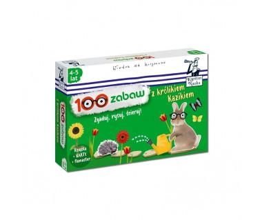 100 zabaw z królikiem Kazikiem