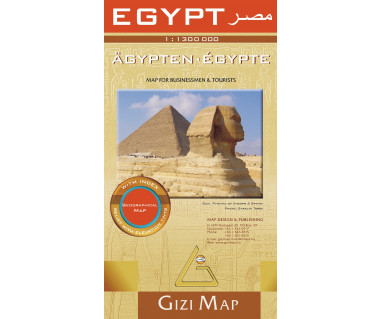 Egypt (geographical) - Mapa