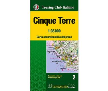 Cinque Terre Map&Guide