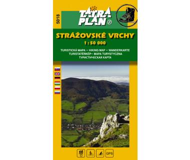 S5018 Strazovske Vrchy - Mapa