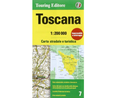 Toscana (7) - Mapa