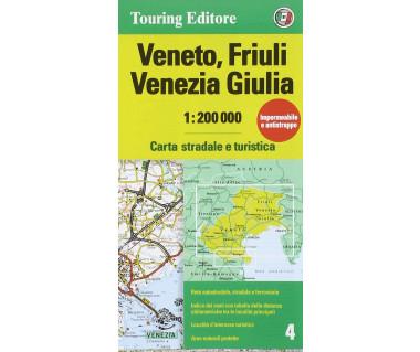 Veneto, Friuli, Venezia Giulia (4) - Mapa