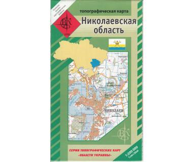 Mikołajowski Obwód mapa topograficzna