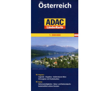 Osterreich - Mapa