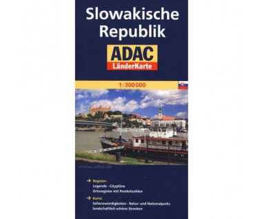 Slowakische Republik - Mapa