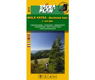 S5019 Mała Fatra - Martinske hole - Mapa