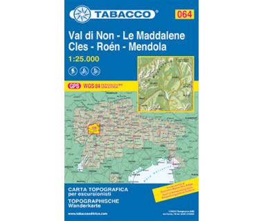 TAB064 Val di Non, Le Maddalene, Cles, Roen, Mendola