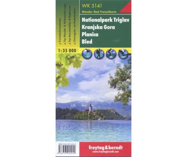 WK 5141 Nationalpark Triglav, Kranjska Gora, Planica, Bled