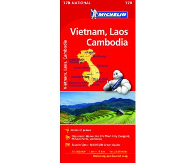 Vietnam, Laos, Cambodia (M 770)