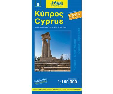 Cyprus - Mapa